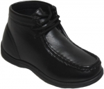 NEW BOYS SCHOOL SHOES (2383853) BLACK