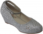GIRLS DRESSY SHOES (2434306) SILVER