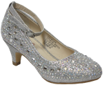 GIRLS DRESSY SHOES (2434313) SILVER