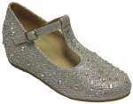 GIRLS DRESSY SHOES (2434316) SILVER
