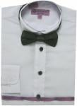 BOYS DRESSY SHIRTS (LONG SLEEVE) WHITE