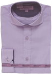BOYS DRESSY SHIRTS (LONG SLEEVE) 2502505-LILAC