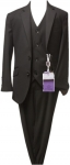 BOYS 3PC SUITS (BLACK)