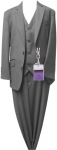 BOYS 3PC SUITS (CHARCOAL) 2931304