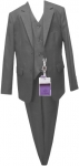 BOYS 3PC SUITS (CHARCOAL)